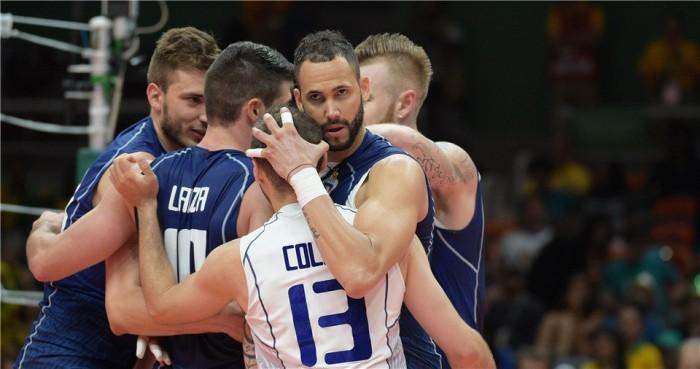 Rio 2016 Volley M - Grande esordio per l'Italia, la Francia è battuta