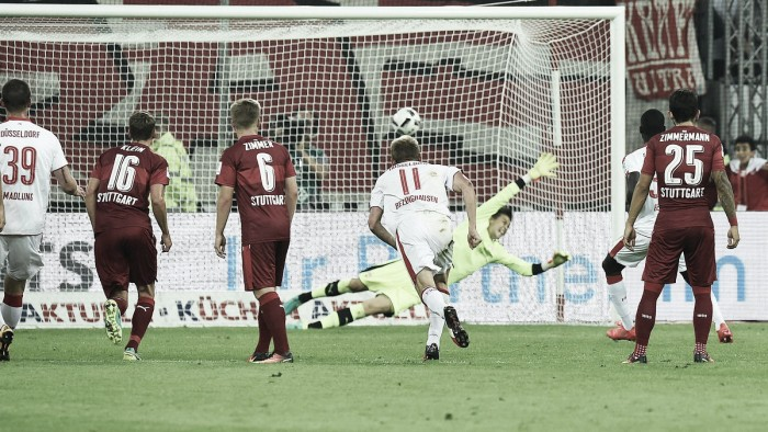 Fortuna Düsseldorf 1-0 VfB Stuttgart: Bebou penalty seals victory against promotion favourites