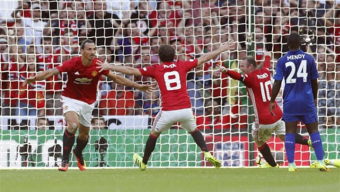 Community Shield, trionfa lo United sul Leicester (2-1): decide Ibrahimovic