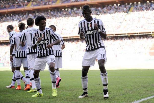 La Juventus riparte da Genova: Pogba e un grande Cuadrado regalano la prima gioia alla Signora