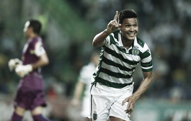 'Teo' marcó su primer gol en Liga NOS para el Sporting