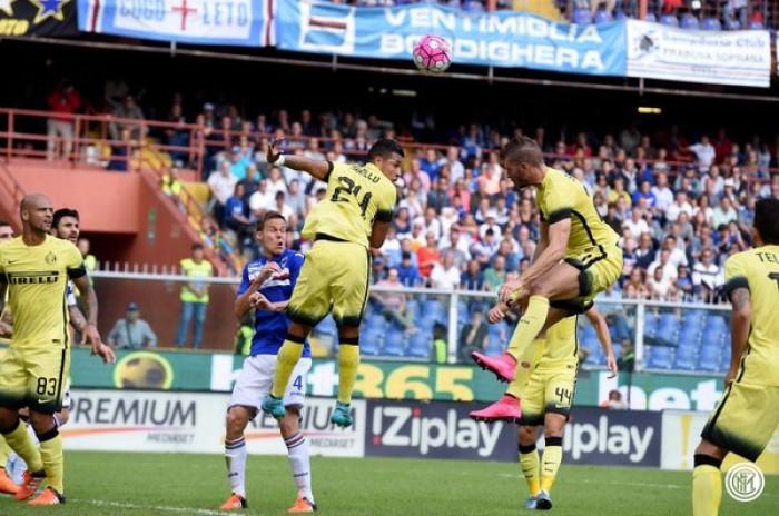 Risultato Sampdoria 1-0 Inter in Serie A 2016/17