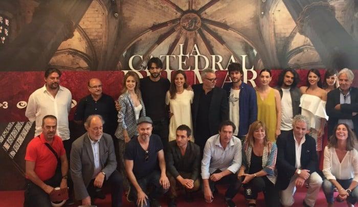 Antena 3 presenta 'La Catedral del Mar' con un elenco de lujo