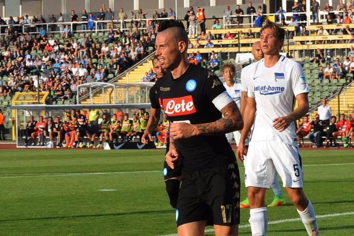 "Napoli, parla Hamsik: ""Higuain? Sarebbe bello batterlo allo Stadium..."""