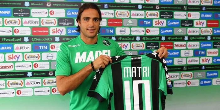 """Sassuolo, Matri si presenta: """"Qui per trovare dimora fissa dopo anni da vagabondo"""""""