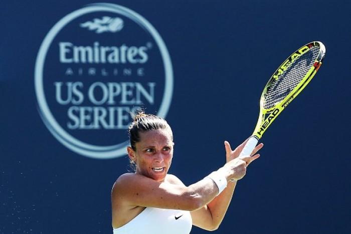 US Open 2016, Roberta Vinci approda al secondo turno