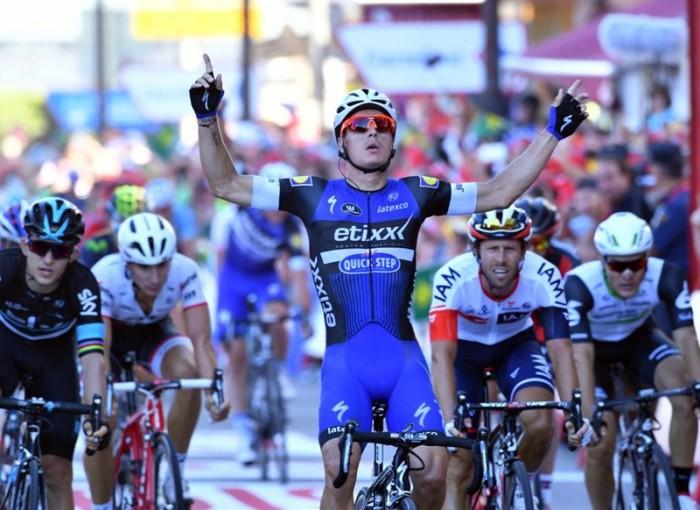 Vuelta 2016: Meersman, sprint da urlo! Michal Kwiatkowski nuova Roja