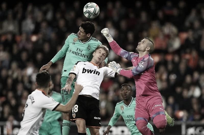 Los últimos resultados entre Valencia y Madrid