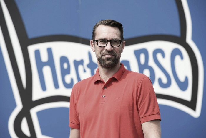 Hertha manager Michael Preetz extends deal to 2019