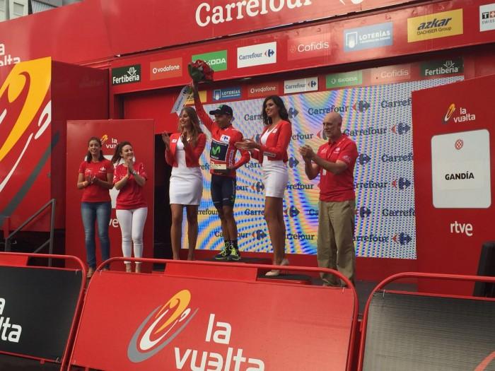 Vuelta 2016, 18° tappa: volata vincente di Cort Nielsen, Quintana mantiene la vetta