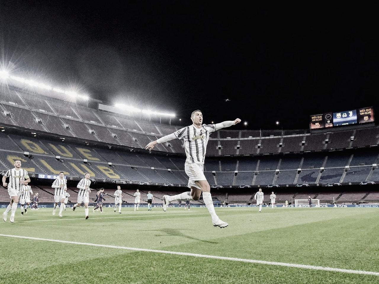 Cristiano Ronaldo marca dois e Juventus triunfa sobre Barcelona no Camp Nou