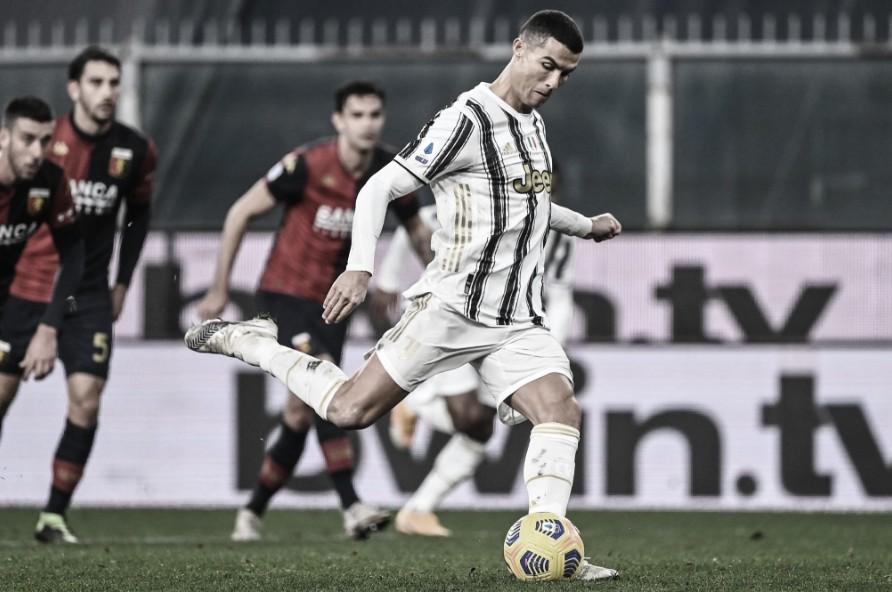 CR7 converte dois pênaltis em vitória tranquila da Juventus