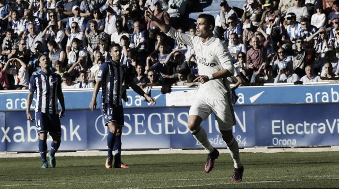 Liga, Real Madrid di rimonta contro l'Alavès (1-4)