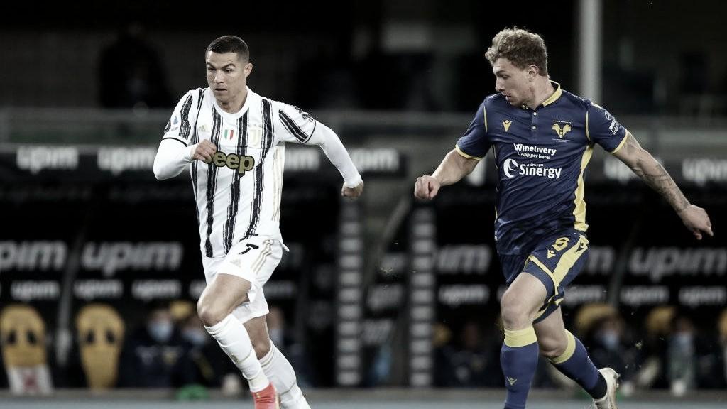 Juventus se distancia da liderança da Serie A ao empatar com Hellas Verona