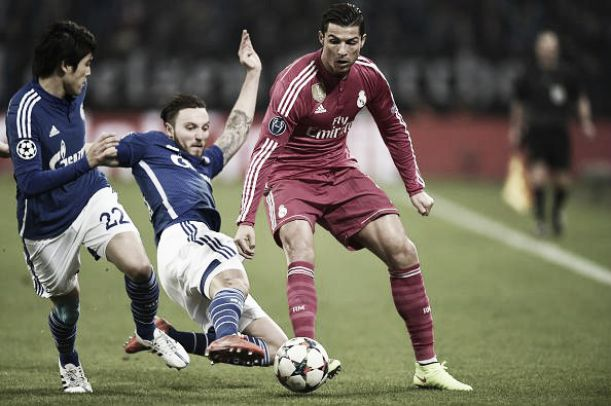 Schalke 0-2 Real Madrid: Real put one foot in the quarters with a win in Gelsenkirchen