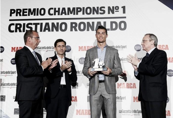Cristiano, el mejor jugador de la última Liga de Campeones