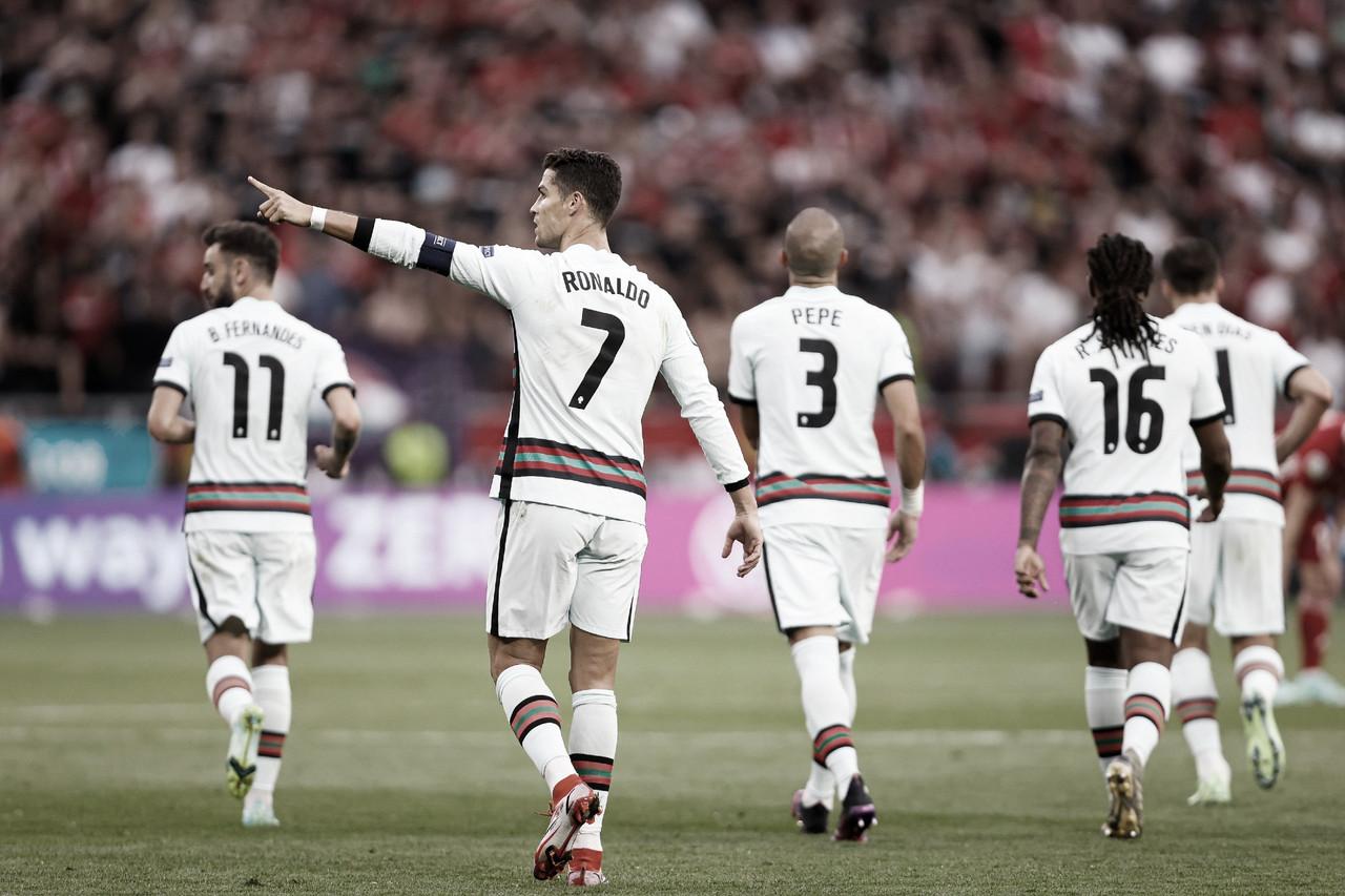 Com emoção: Ronaldo marca dois, e Portugal estreia com vitória sobre Hungria pela Eurocopa