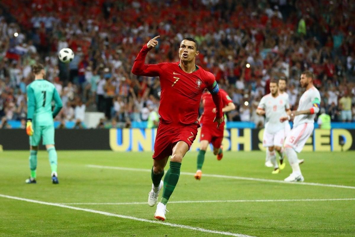 L'Espagne et Ronaldo dos à dos !
