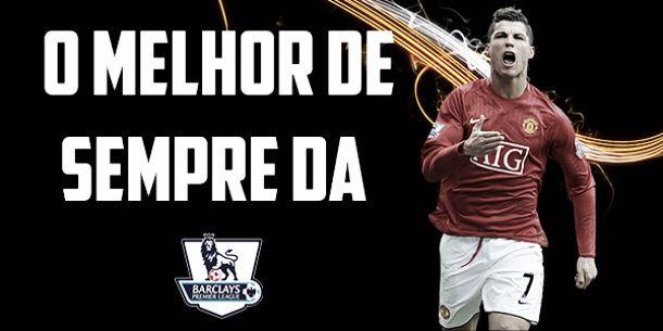 Cristiano Ronaldo eleito o melhor de sempre da Premier League