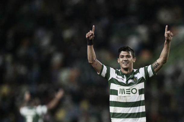 Fredy Montero marcó en la goleada del Sporting