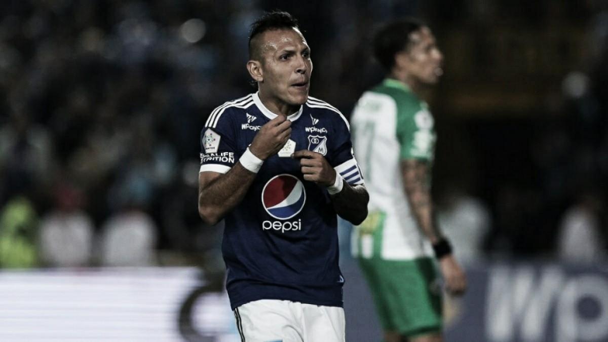 'Carachito' Dominguez será baja en Millonarios para recibir a América en el Campín