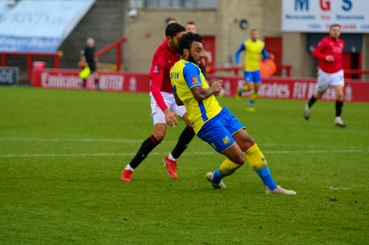 Morecambe 4-2 Solihull Moors (AET): Shrimps come from behind to defeat Shan's Solihull