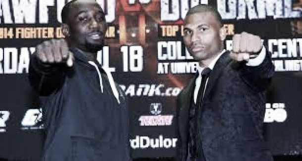 Crawford and Dulorme set for showdown for the WBO light welterweight belt