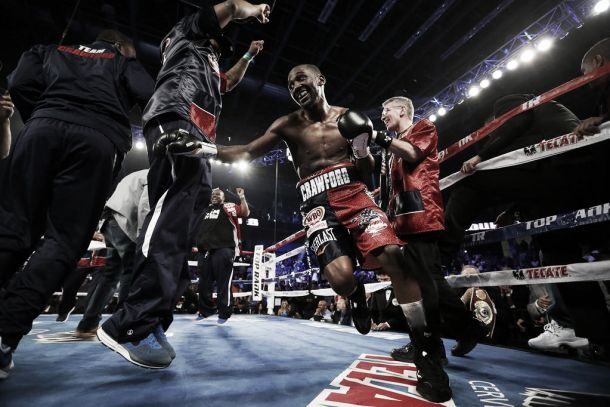 Terence Crawford TKO's Thomas Dulorme To Win WBO Junior Welterweight Title