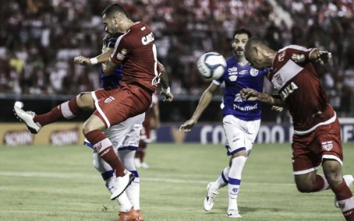 CRB bate Confiança e se isola como líder no Grupo A da Copa do Nordeste