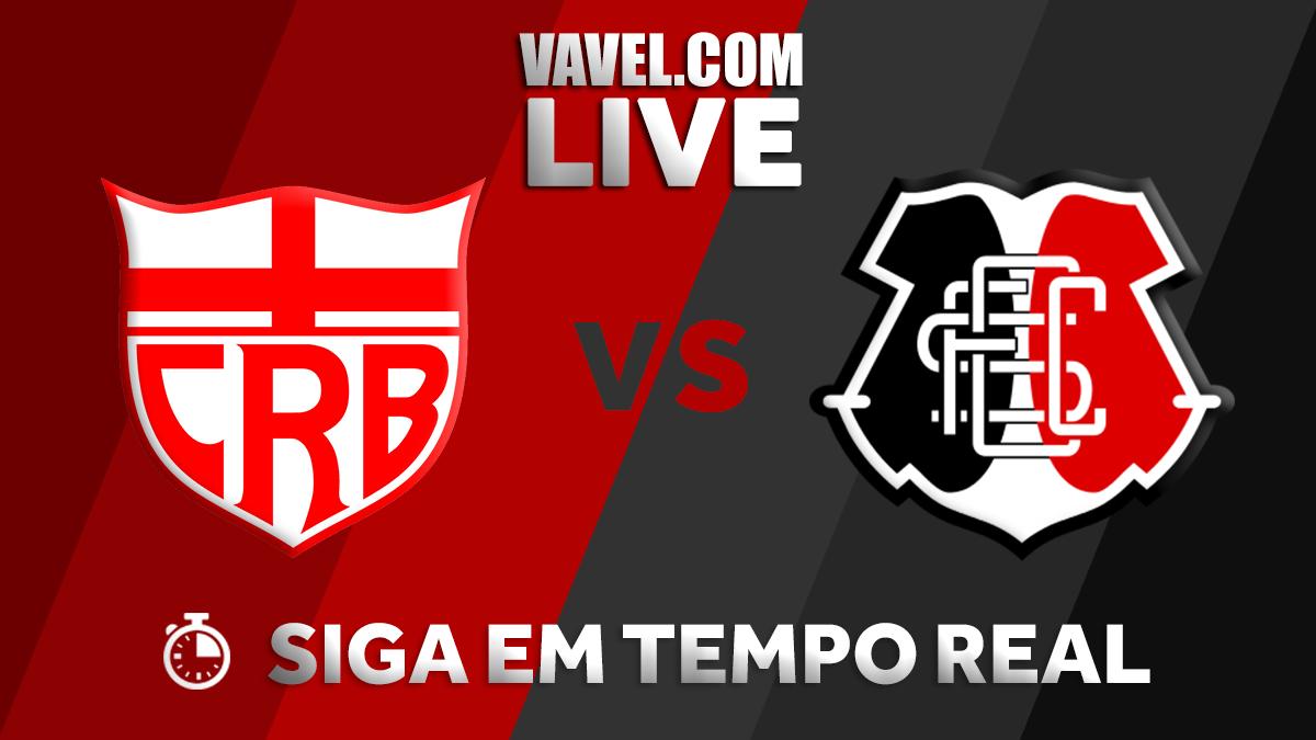 Resultado CRB 1x1 Santa Cruz na Copa do Nordeste 2018
