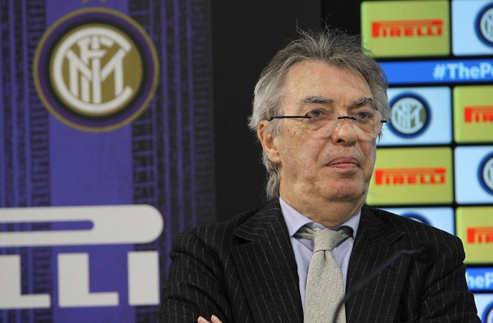 """Inter, Moratti ne è sicuro: """"Scudetto? Sarà una passeggiata per la Juventus"""""""