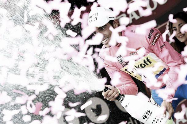 Contador padrone del Giro, a Landa la tappa del Mortirolo