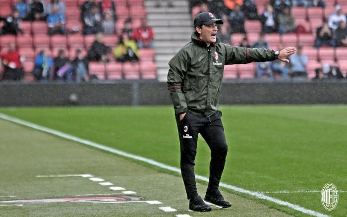 """Milan, Montella commenta la vittoria contro il Bournemouth: """"Potevamo fare meglio, ma non era facile"""""""