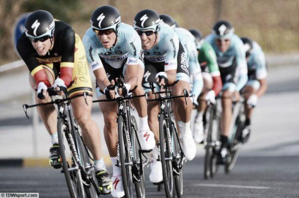 Resultado de la contrarreloj por equipos del mundial de for Equipos de ciclismo