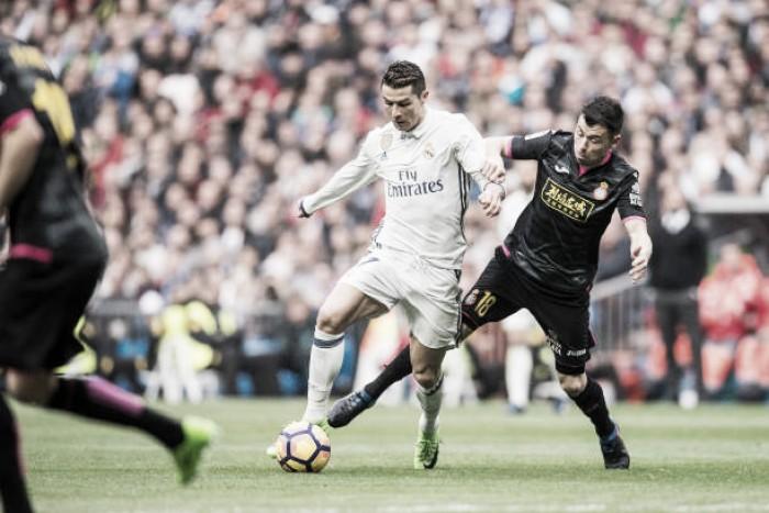 Sem Carvajal, Real Madrid recebe Espanyol buscando primeira vitória em casa no Espanhol
