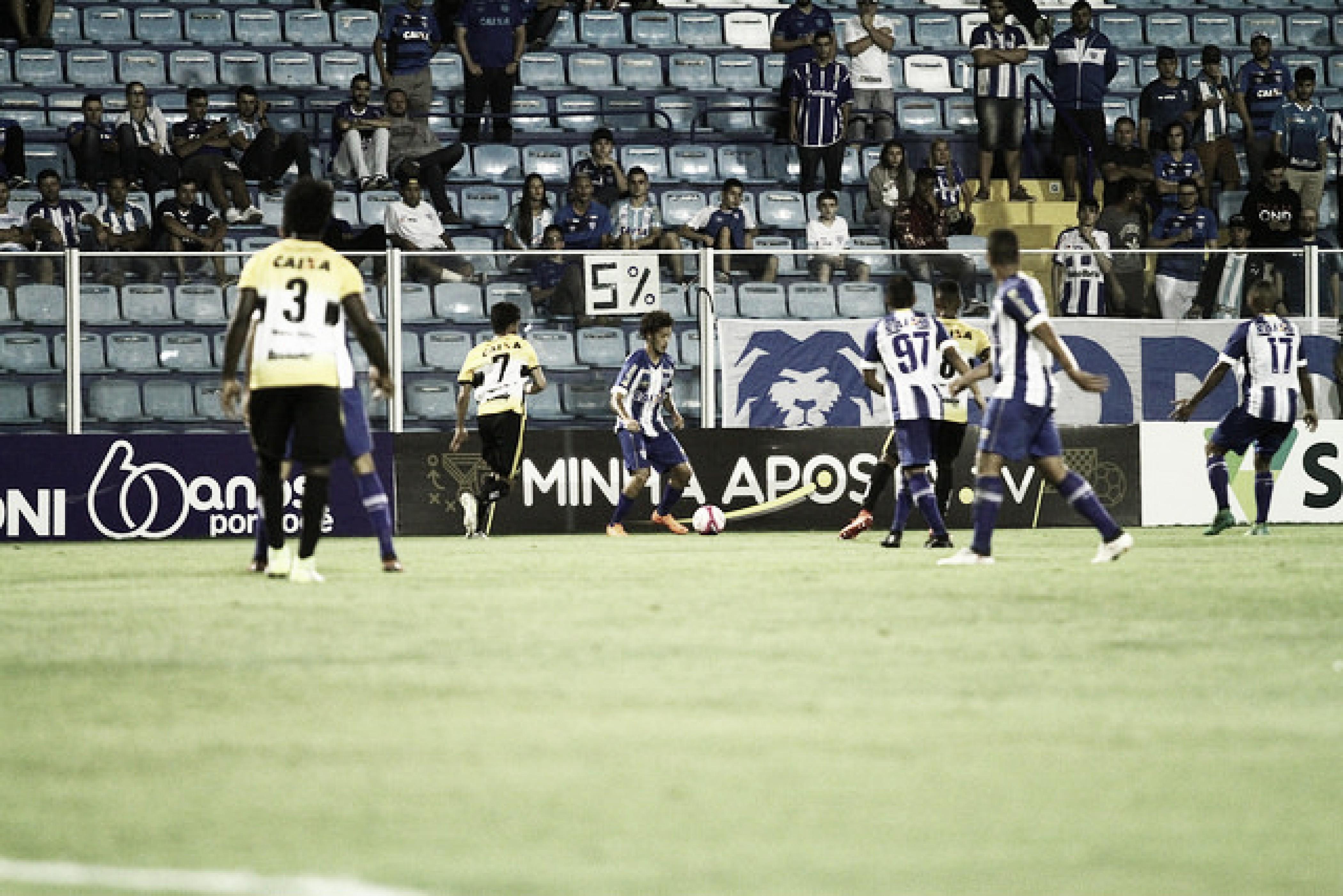 Forte em casa, embalado Criciúma recebe rival Avaí pela Série B