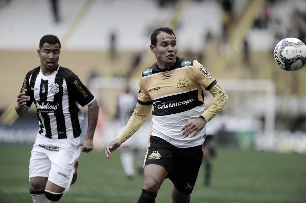 Juninho Camargo lamenta empate contra Figueirense: ''Resultado preocupa''