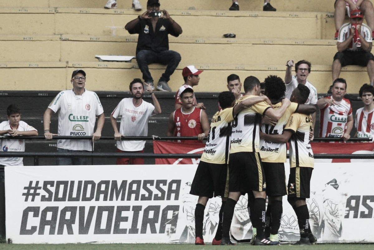 Criciúma bate Hercílio Luz e fecha Catarinense na quarta posição