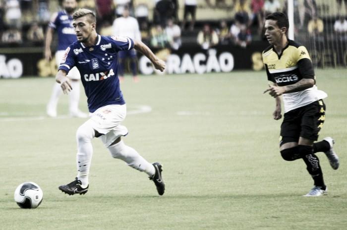 Em noite de goleiros, Criciúma e Cruzeiro não saem do empate na estreia da Copa Sul-Minas-Rio