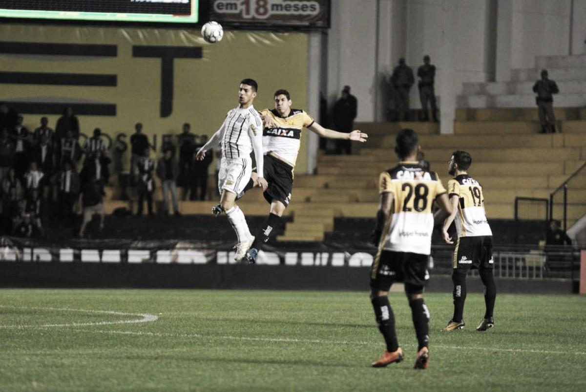 Criciúma sai na frente, mas Figueirense busca empate em duelo catarinense na Série B