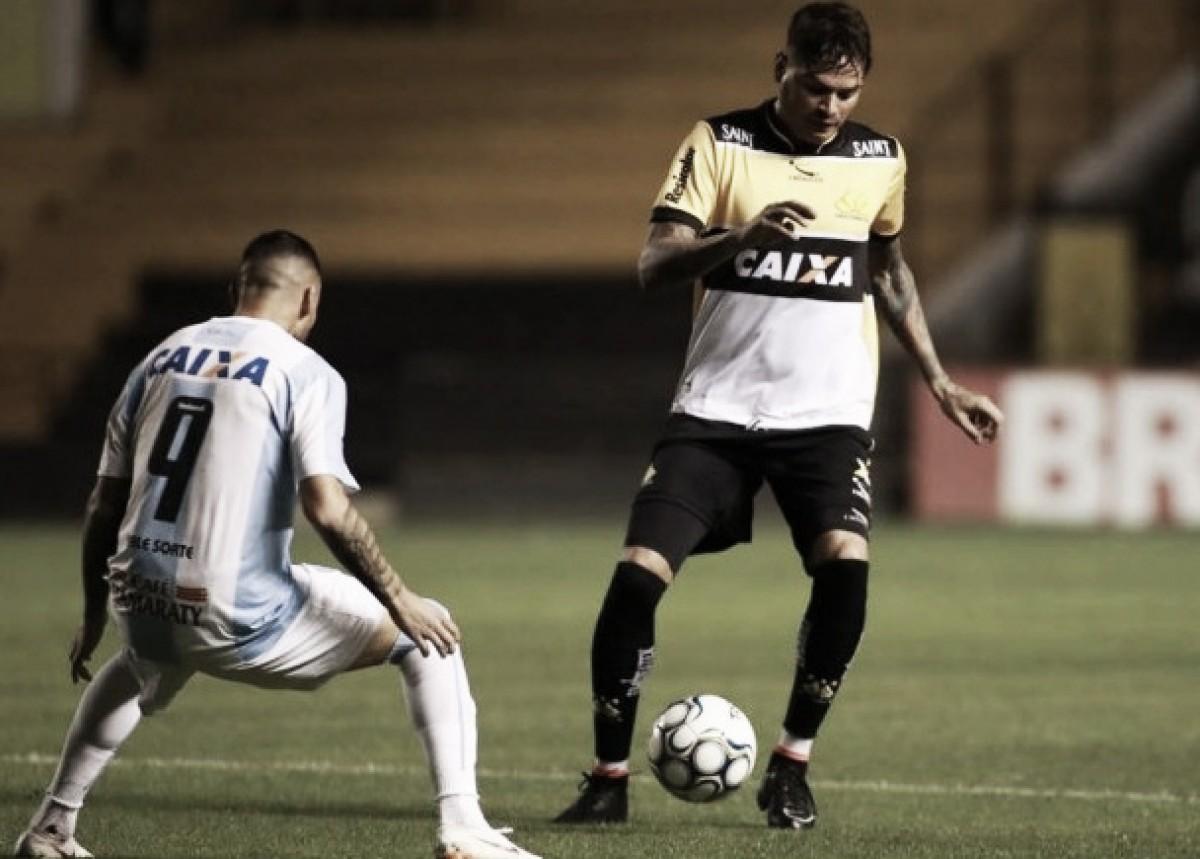 Alex Maranhão marca golaço, Criciúma vira pela primeira vez na Série B e complica Londrina