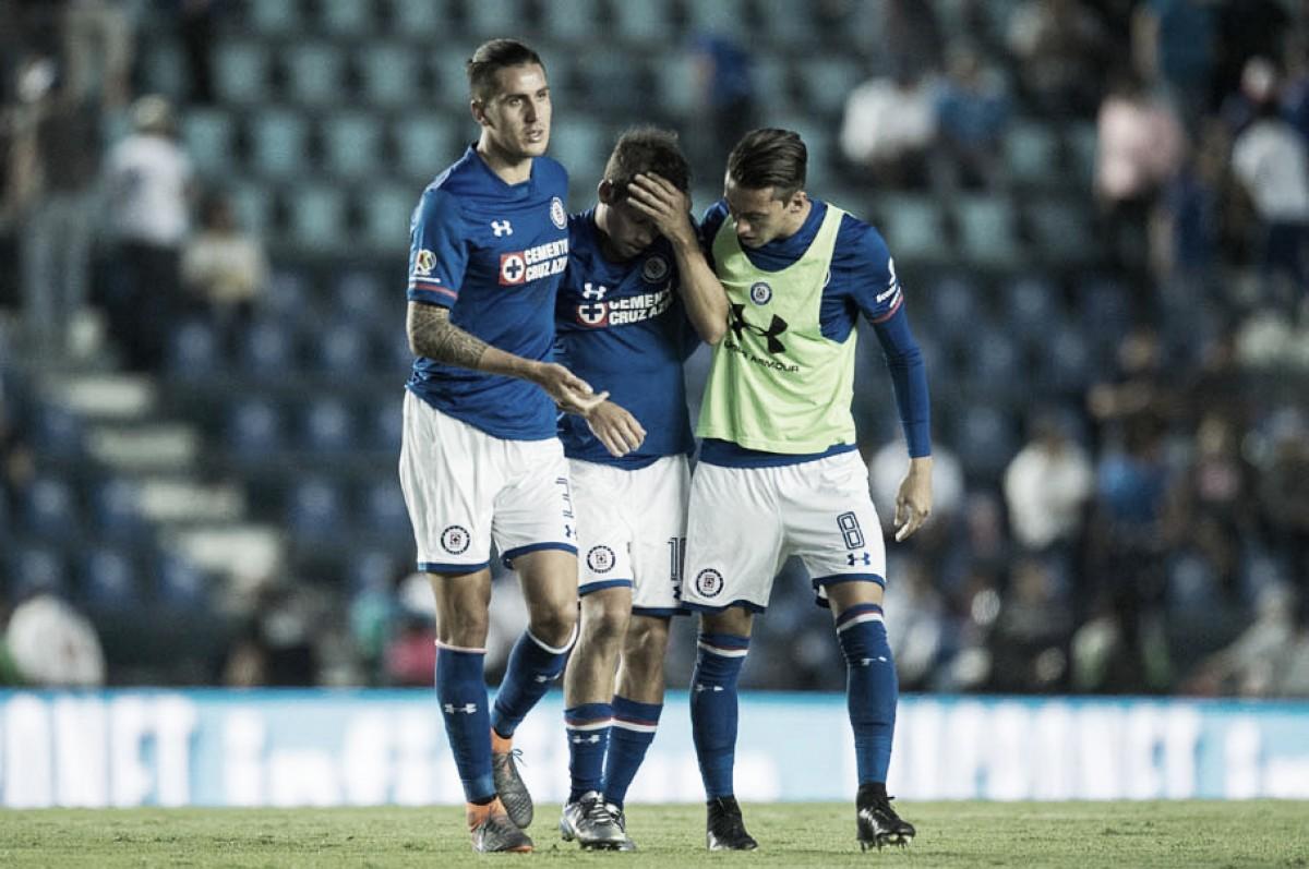 Cruz Azul iguala su peor inicio de torneo, como el del Clausura 2004