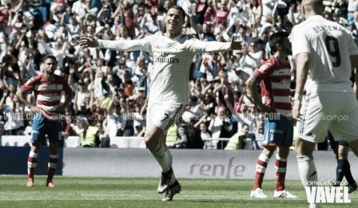 Granada - Real Madrid, sábado 6 de mayo a las 20:45