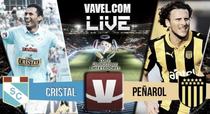Resultado Sporting Cristal - Peñarol en Copa Libertadores 2016 (1-1)