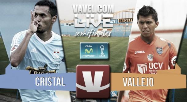 Resultado Sporting Cristal - César Vallejo en semifinales nacionales (3-1)