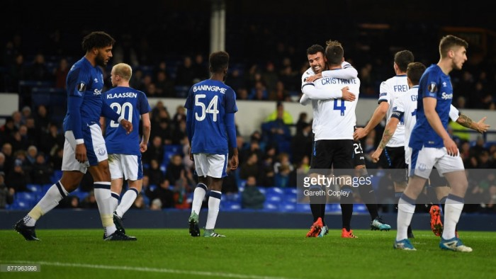 Everton 1-5 Atalanta: European humiliation continues as Toffees are smashed by incisive Italians