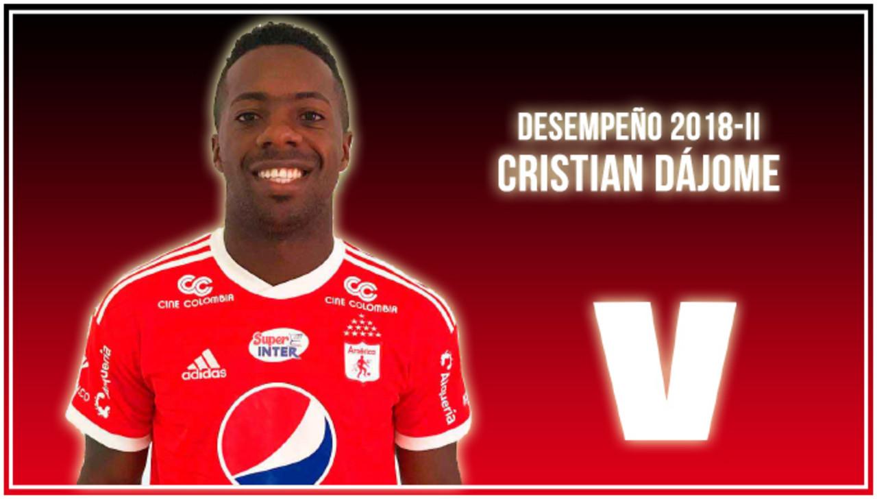 Análisis VAVEL, América de Cali 2018-II: Cristian Dájome