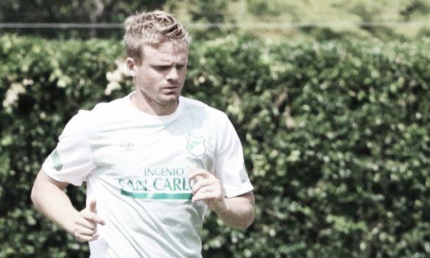 Cristian Nasuti se pierde la ida de la final contra el Medellín