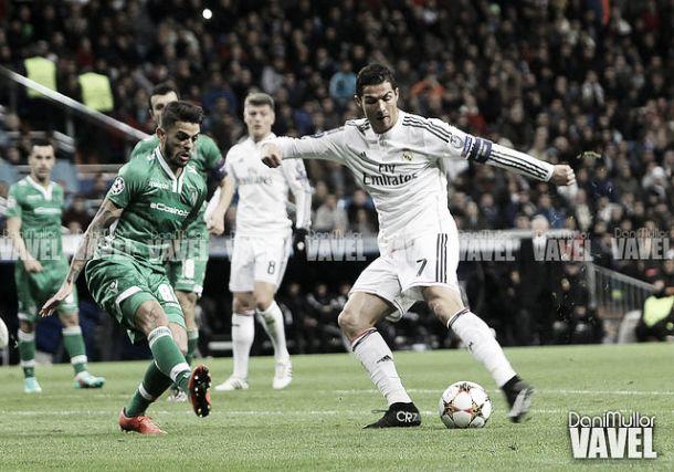 Cristiano Ronaldo, máximo goleador madridista en la Champions League