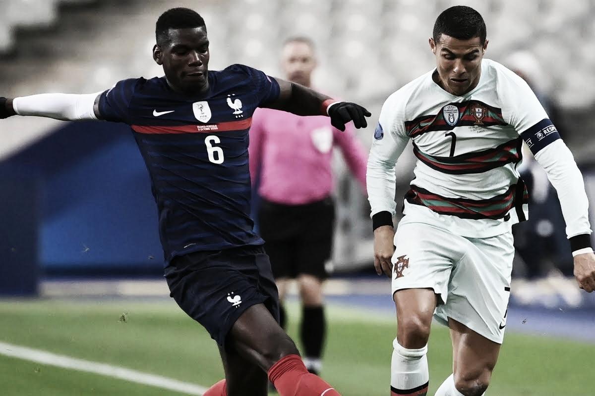 """Fernando Santos analisa jogo de Portugal contra França: """"Teve domínios iguais"""""""